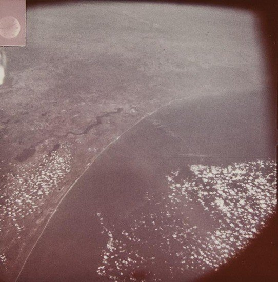 2: Automatic recorded view of Earth from space, 31 J