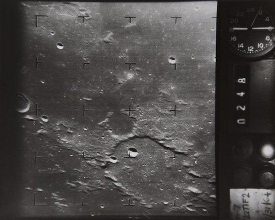 8: Ranger 7 close-up view of  the Moon, July 1964