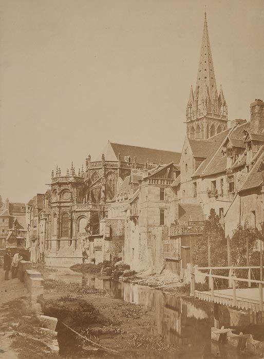 5: Photographer Unknown St. Etienne, Caen, 1850s
