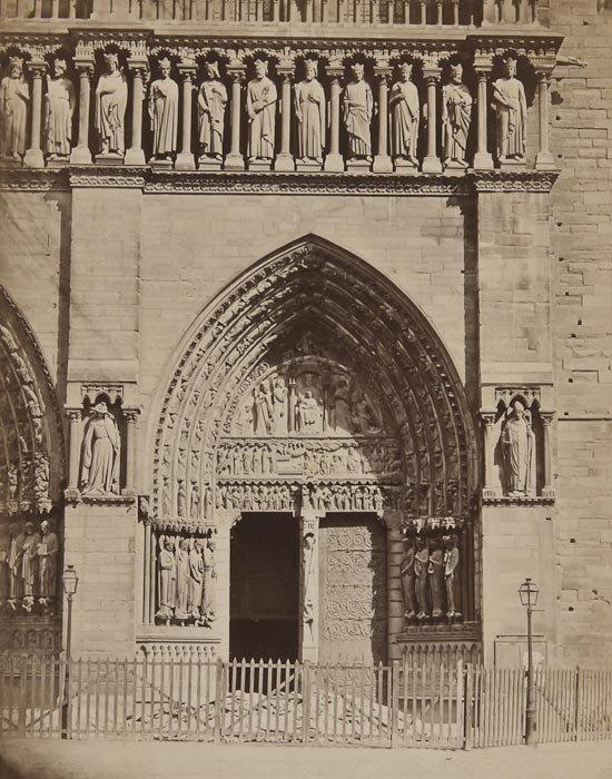 7: Achille Quinet (1831-1900) North Door, Notre Dame