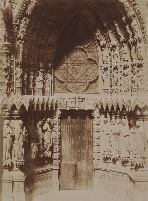 9: Henri Le Secq (1818-1889) West Front Left Portal,