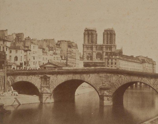 11: Attributed to the Varin Frères Le Pont St. Michel