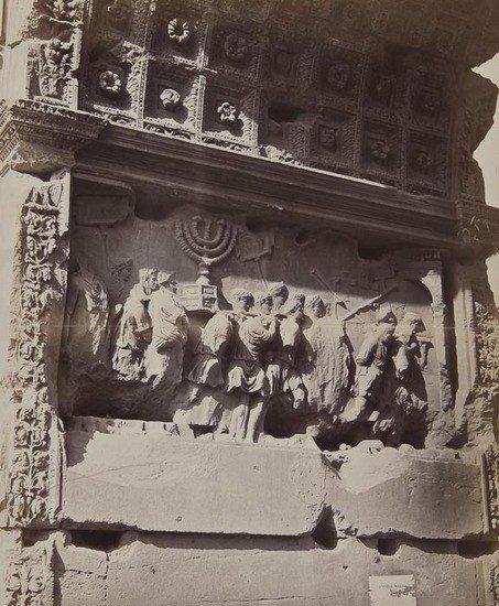 13: Bisson Frères (1814-1876, 1826-1900) Bas Relief, A