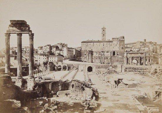 17: Photographer Unknown Roman Forum, ca. 1860