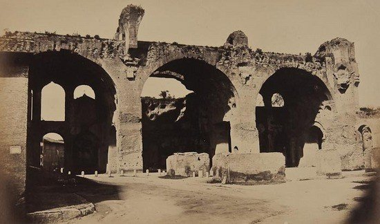 19: Robert Macpherson (1811-1872) The Basilica of Maxe