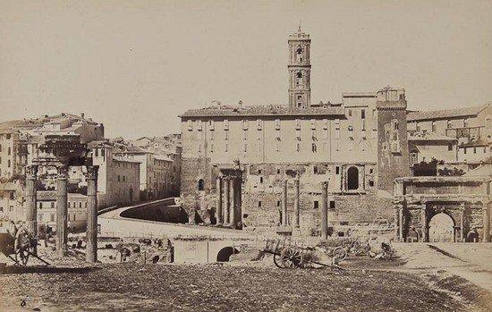 20: James Anderson (1813-1877) Roman Forum, ca.1853