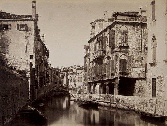 24: Carlo Naya (1816-1882) Ricordo di Venezia, 1870s
