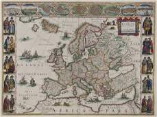238: Blaeu (Willem) Europa recens descripta