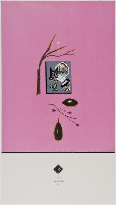 2: Craigie Aitchison (1926-2009) Get Well Soon