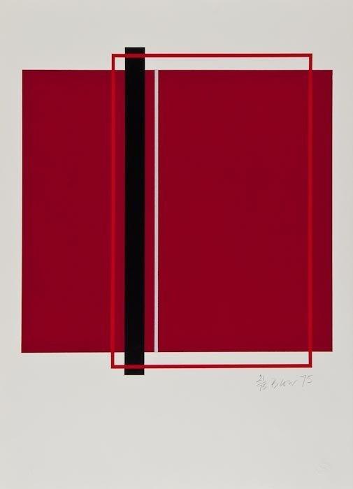 9: Sandra Blow (1925-2006) Untitled