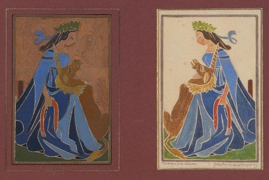 10: John Buckland-Wright (1897-1954) The Virgin & the