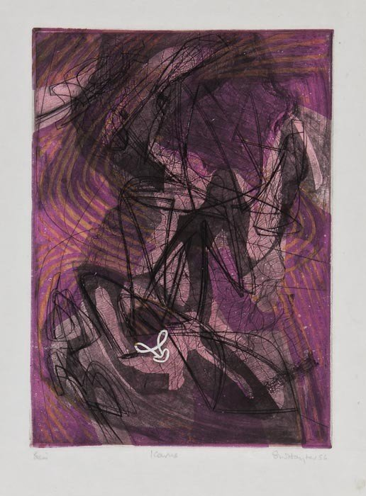 13: Stanley William Hayter (1901-1988) Icarus (B.&M.28