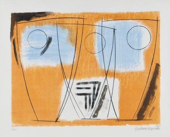 16: Barbara Hepworth (1903-1975) Three Forms