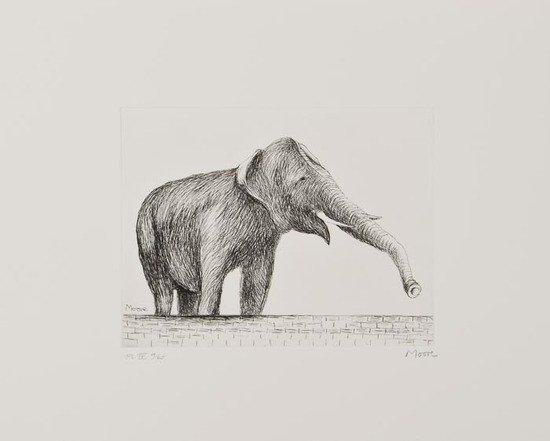 18: Henry Moore (1898-1986) Elephant (C.637)