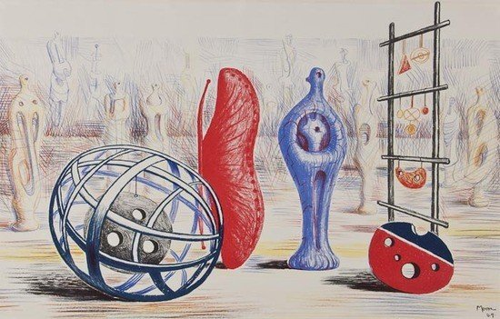 23: Henry Moore (1898-1986) Sculptural Object (C.7)