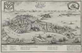 851: Fer (Nicolas de) Venise Ville Capitale de la Plus