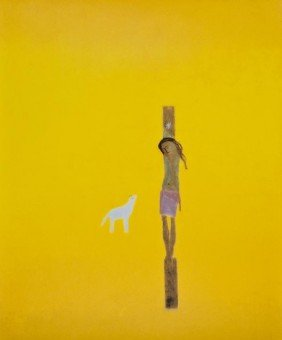 11: Craigie Aitchison (1926-2009) Crucifixion