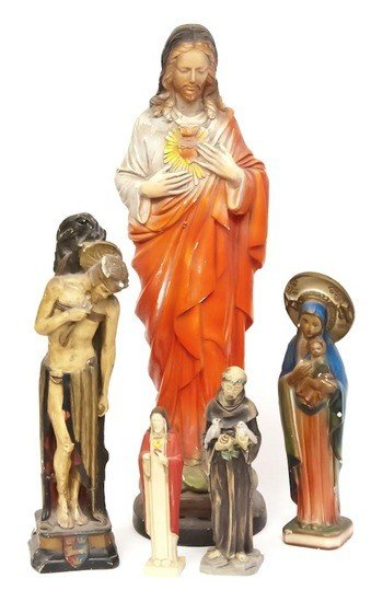 12: A selection of religious iconography