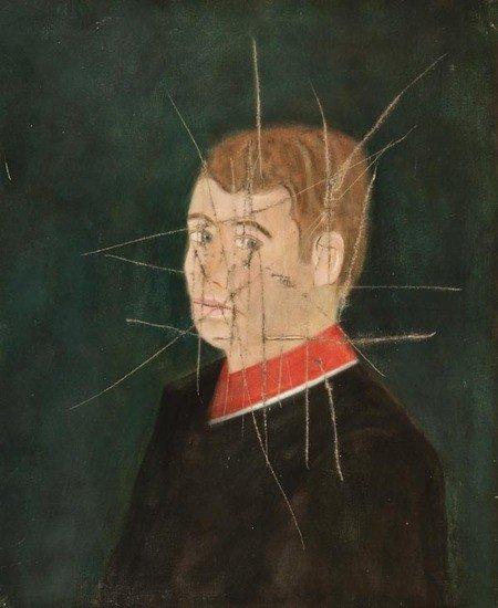 14: Craigie Aitchison (1926-2009) Self Portrait