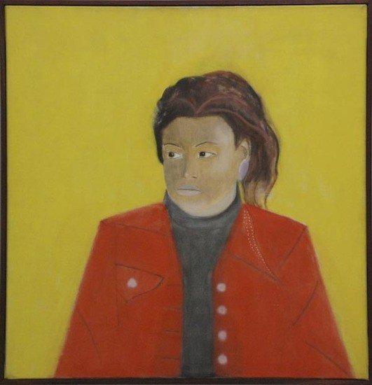 15: Craigie Aitchison (1926-2009) Girl in a Red Blazer