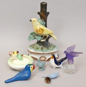 16: A selection of bird objects