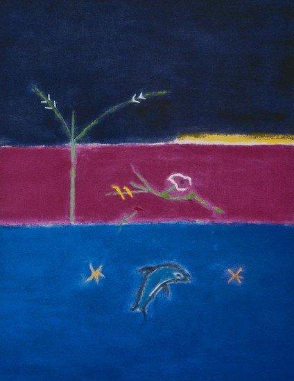 18: Craigie Aitchison (1926-2009) Dolphin