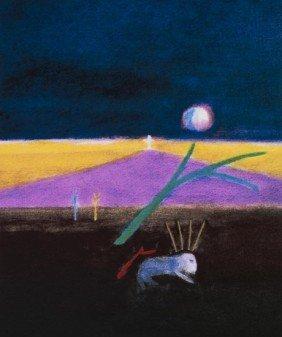 21: Craigie Aitchison (1926-2009) Candy Dead