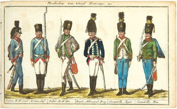 4D: Oesterreichischer Militær-Almanach