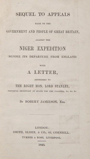 3: Jamieson (Robert) Sequel to Appeals... against the