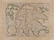 272: Fer (Nicolas de) Peloponeses aujourd'huy La Moree
