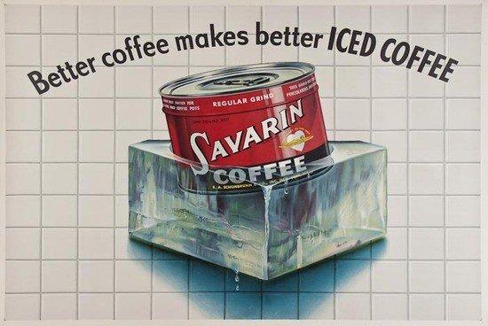 7: ANONYMOUS SAVARIN, Iced Coffee