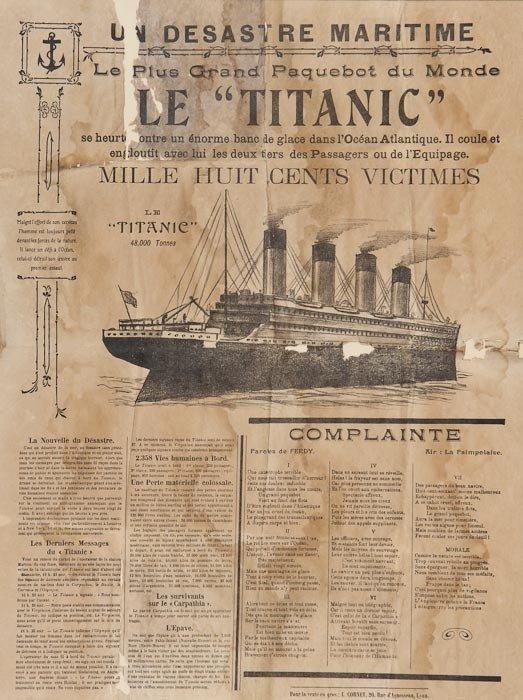 12: ANONYMOUS LE TITANIC, Un desastre maritime