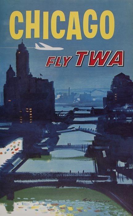 24: BRIGGS, Austen CHICAGO, fly TWA