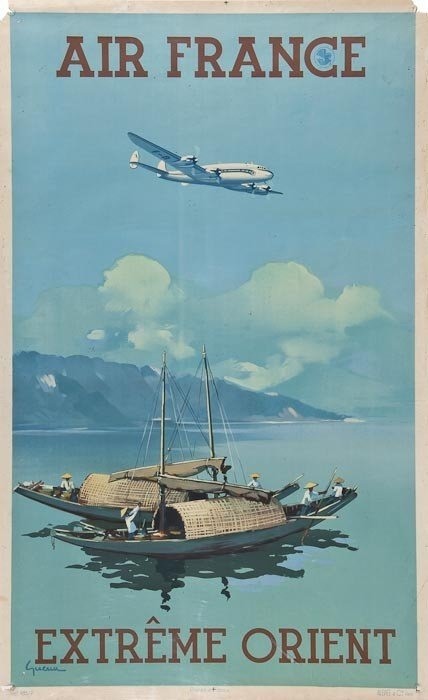 53: GUERRA AIR FRANCE, Extreme Orient