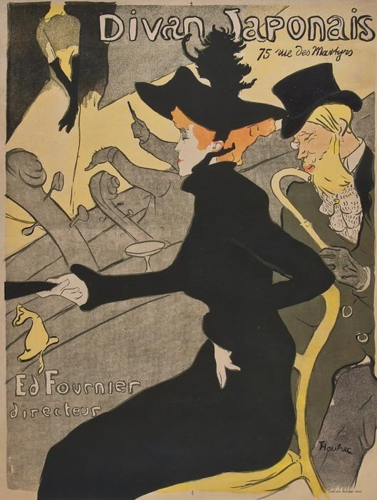 82: TOULOUSE-LAUTREC DE, Henri (1864-1901) DIVAN JAPON