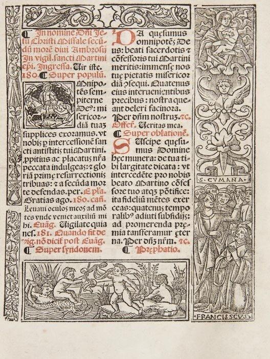 5: Missal.- Missale secundum institutionem sanctissim
