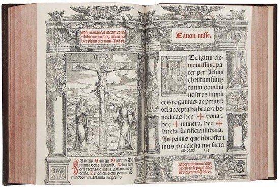 9: Missal.- Missale secundum consuetudinem aline eccl