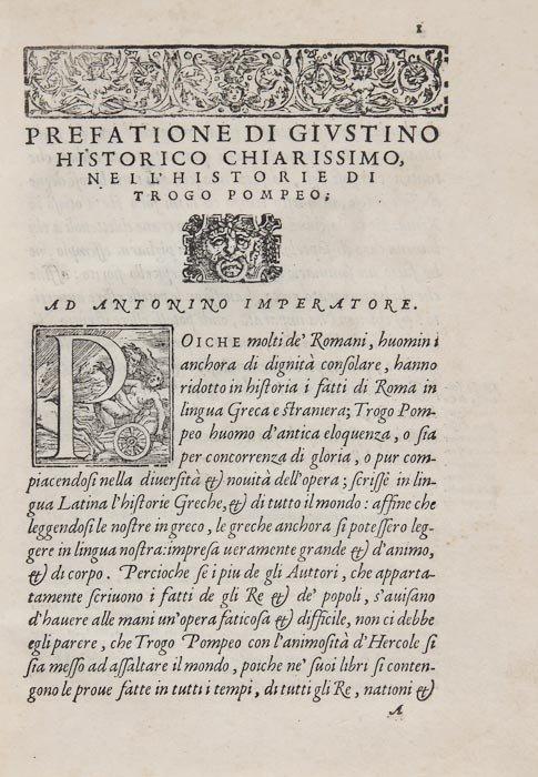 16: Justinus (Marcus Junianus) Nelle Historie di Trogo