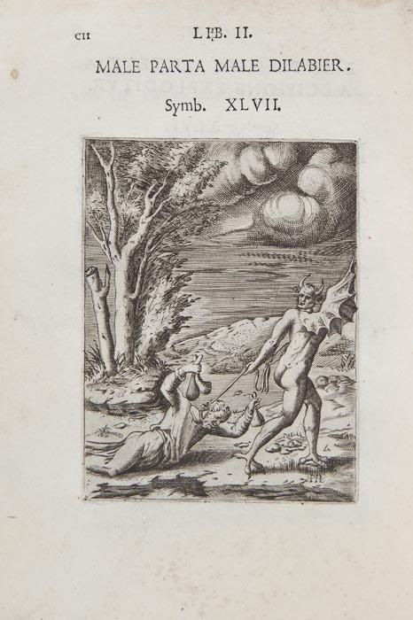 19: Emblemata.- Bocchi (Achille) Symbolicarum quaestio