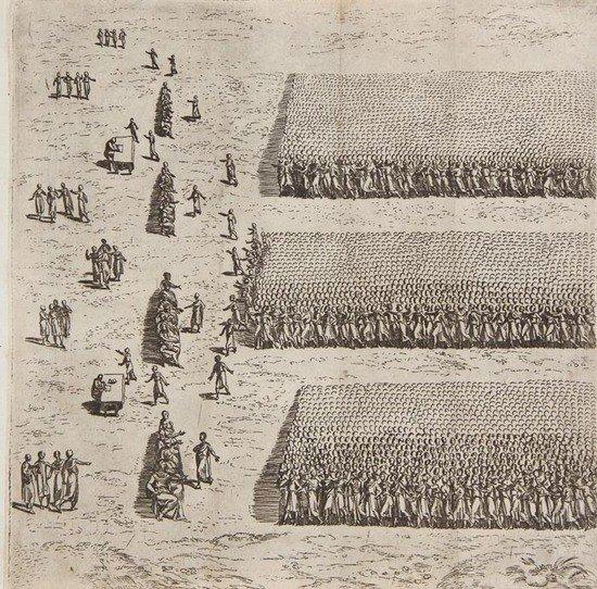 22: Patrizi (Francesco) La Militia Romana di Polibio..