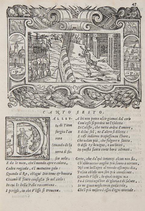 31: Andreini (Giovanni Battista) L'Adamo Sacra Raprese