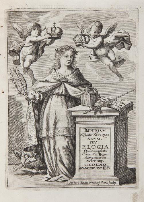 37: Avancino (Nicolo) Imperium Romano-Germanicum, sive