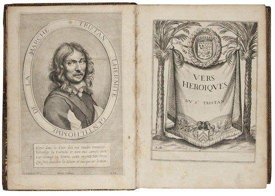 97: Tristan l'Hermite (François) Poesies Galantes et H