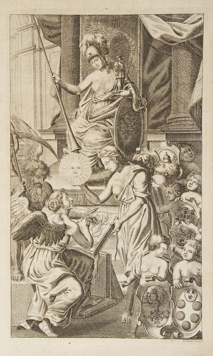 105: Italy and Spain.- Imhof (Jacob Wilhelm) Historia I