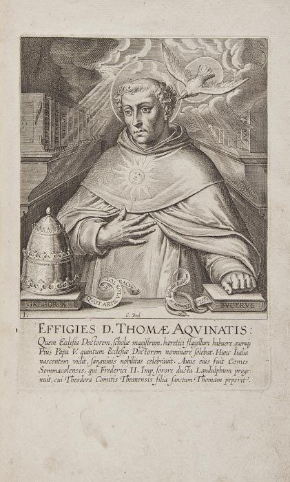 120: Vaenius (Otto) Vita D. Thomae Aquinatis