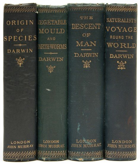 9: Darwin (Charles) The Descent of Man, and Selection
