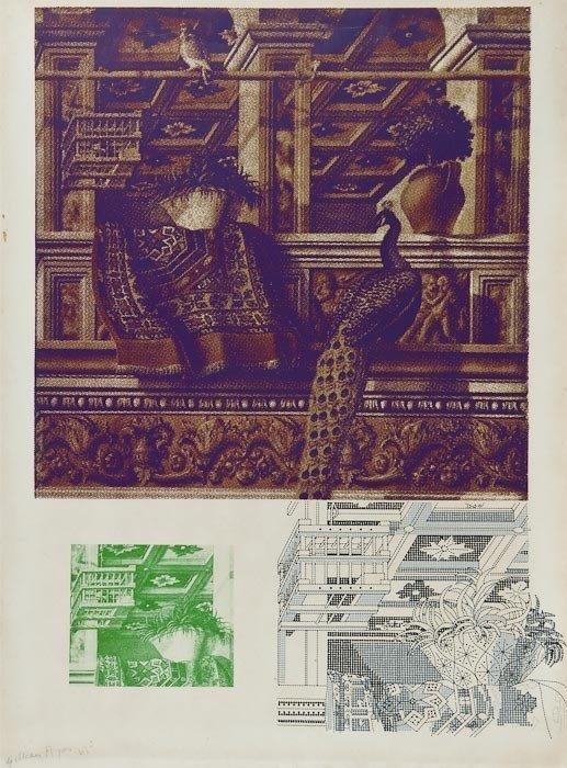 7: Gillian Ayres (b.1930) Crivelli's Room II