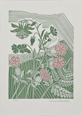 9: Edward Bawden (1903-1989) Campions and Columbine