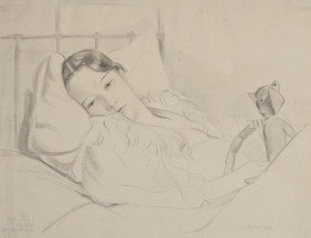 John Buckland-Wright (1897-1954) Mildred Anderson