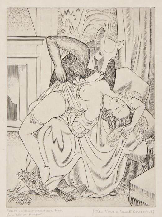 24: John Buckland-Wright (1897-1954) Rosette & d'Alber
